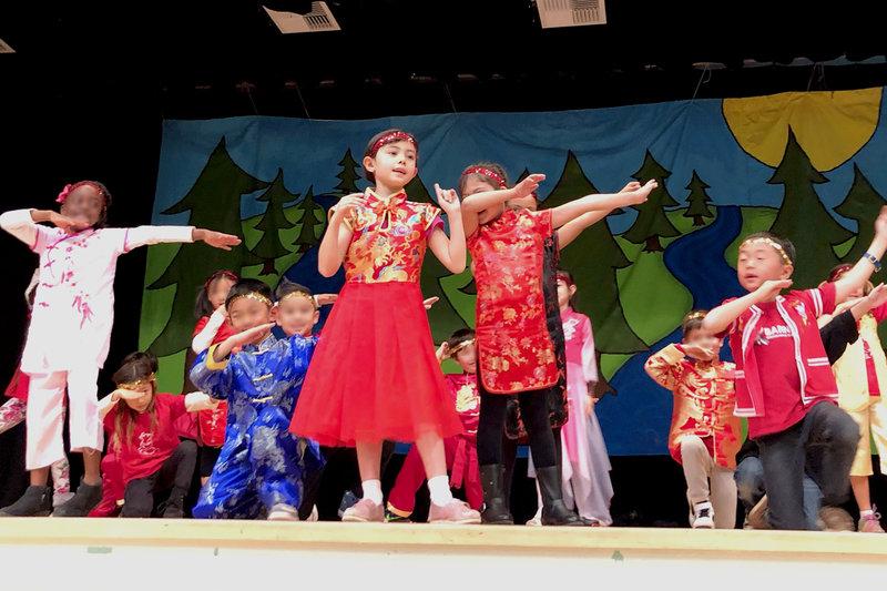 1st Grade CNY Celebration